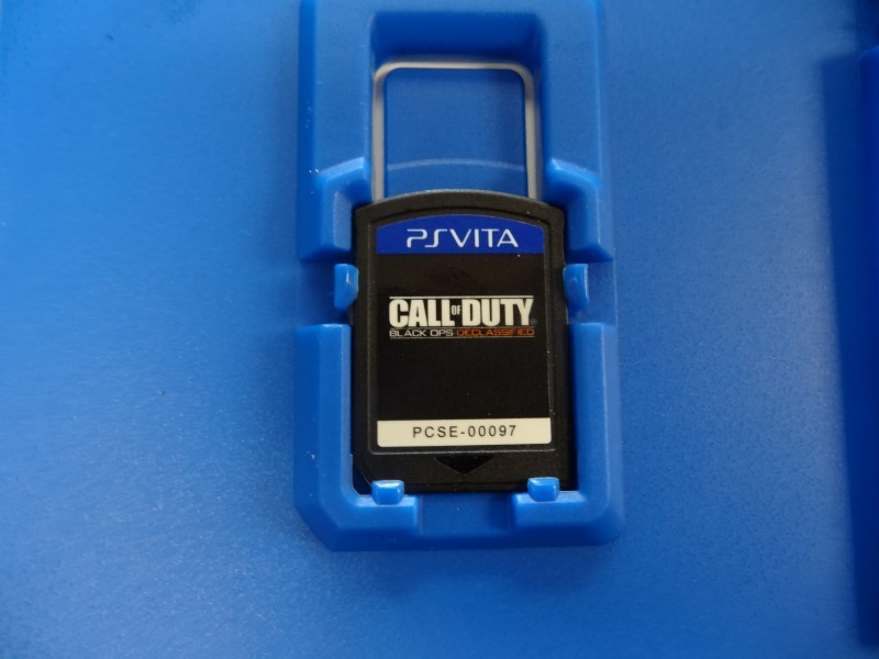 SONY Sony PS VITA Game PSVITA CALL OF DUTY BLACK OPS DECLASSIFIED