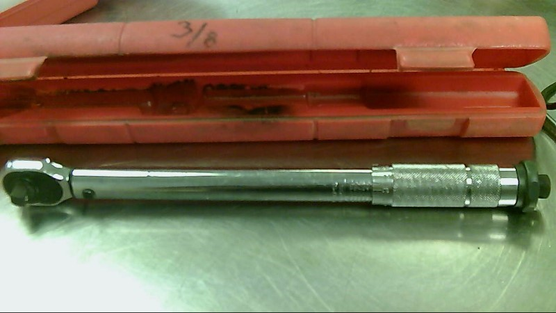 """PITTSBURGH 3/8"""" TORQUE WRENCH 80-FT LBS"""
