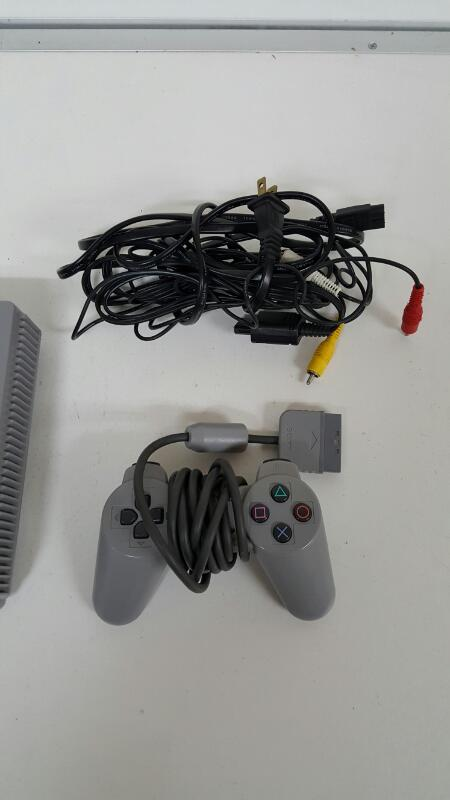 Original Sony PlayStation One (SCPH-5501) PS1 Grey Console