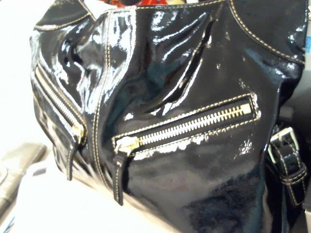 DOONEY & BOURKE Handbag BLACK LEATHER SHOULDER BAG