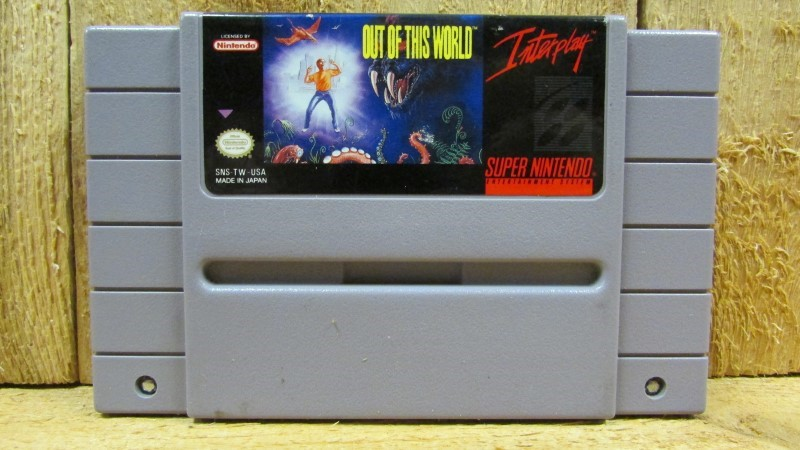 NINTENDO Nintendo SNES Game OUT OF THIS WORLD