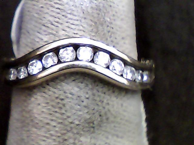 Lady's Diamond Fashion Ring 11 Diamonds .22 Carat T.W. 10K Yellow Gold 1.4dwt