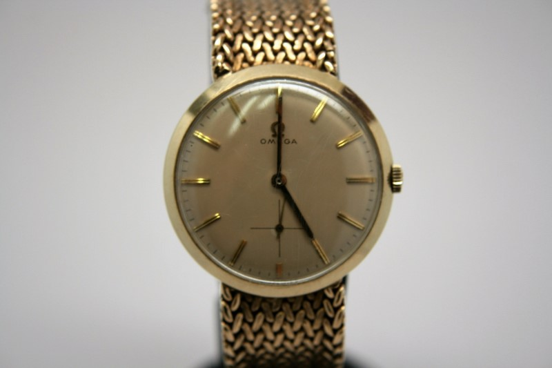 OMEGA WATCH  AUTOMATIC 14K GOLD