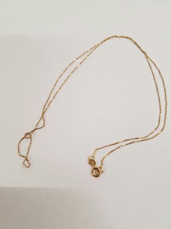 Gold Chain 14K Yellow Gold 0.7g