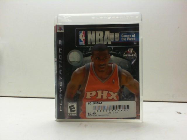 SONY Sony PlayStation 3 Game NBA 08