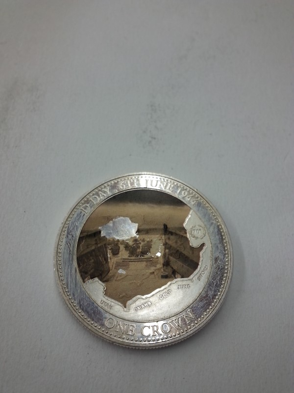 D-DAY One Crown Coin