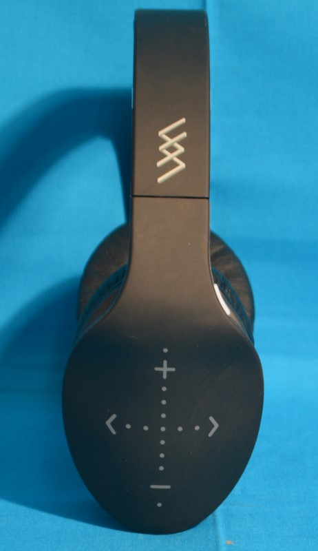 iHip Side Swipe Bluetooth Headphones Black