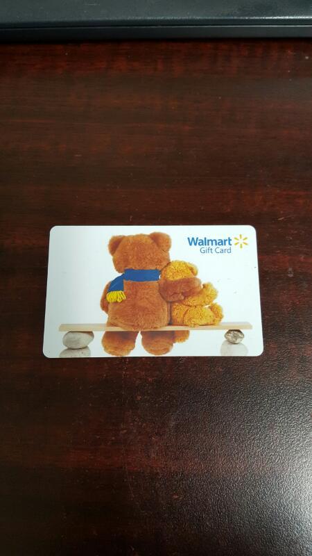 Walmart Gift Card $34.22 - Card in Hand, Ready to Ship