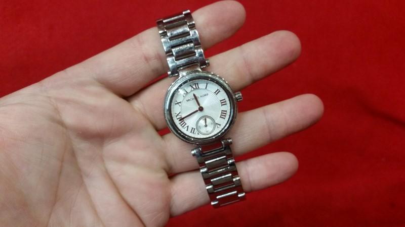 Michael Kors MK5970 Women's Skylar Silver Dial Stainless Steel Watch
