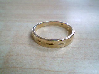 Gent's Gold Ring 14K Yellow Gold 4.4g Size:11