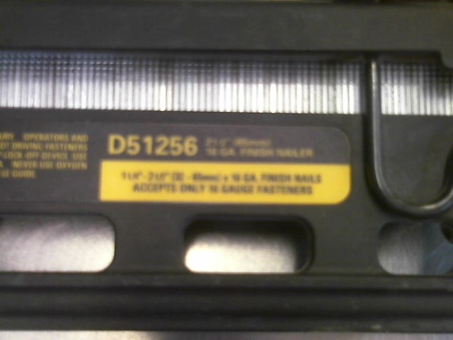 DEWALT Nailer/Stapler D51256