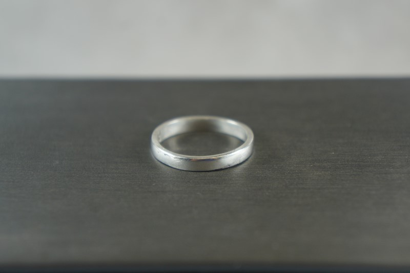 STERLING SILVER PLAIN BAND 925 1.9g Size:7