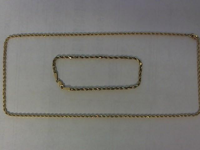 Gold Chain 14K Yellow Gold 8.5g