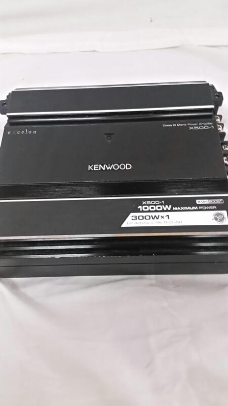 KENWOOD Car Amplifier X500-1