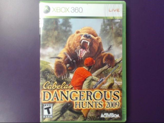 Cabela's Dangerous Hunts 2009 (Microsoft Xbos 360, 2008)