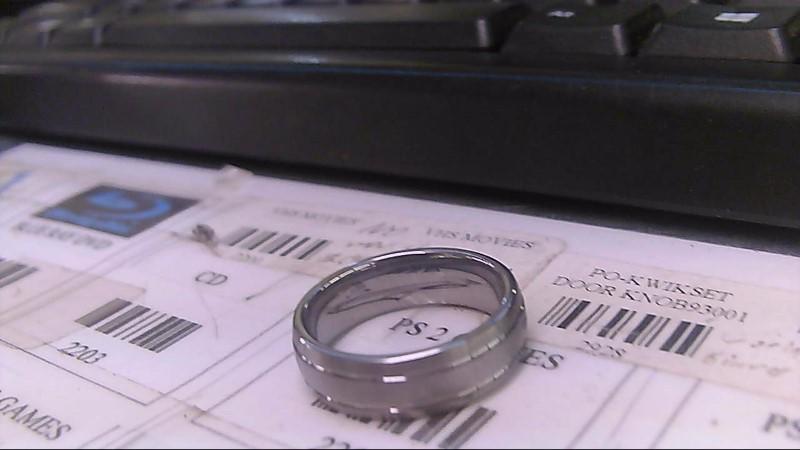 Gent's Ring Black Tungsten 12.8g