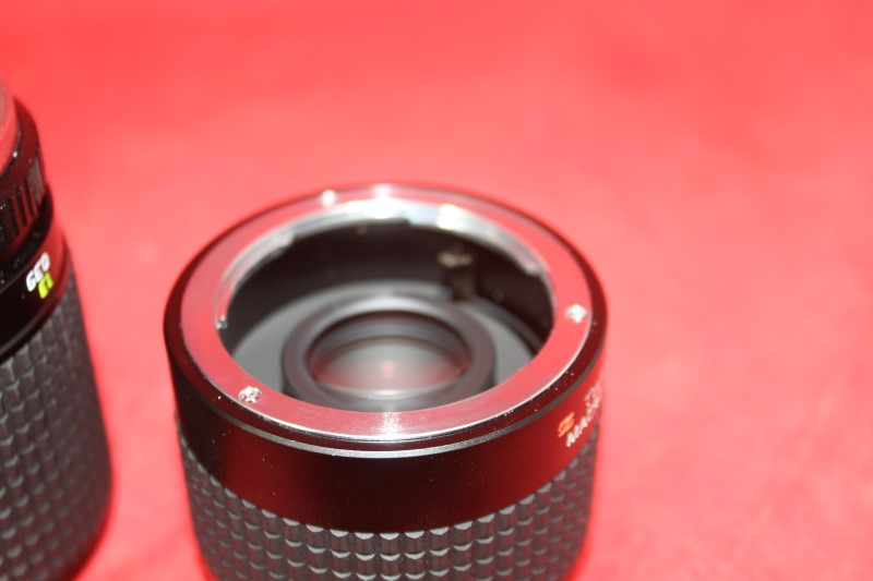 Tokina AT-X 90mm f/2.5 Macro For Olympus OM w/ Extender FREE SHIPPING