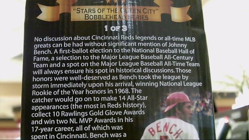 Cincinnati Reds Bobblehead Johnny Bench 2015 Good Buya