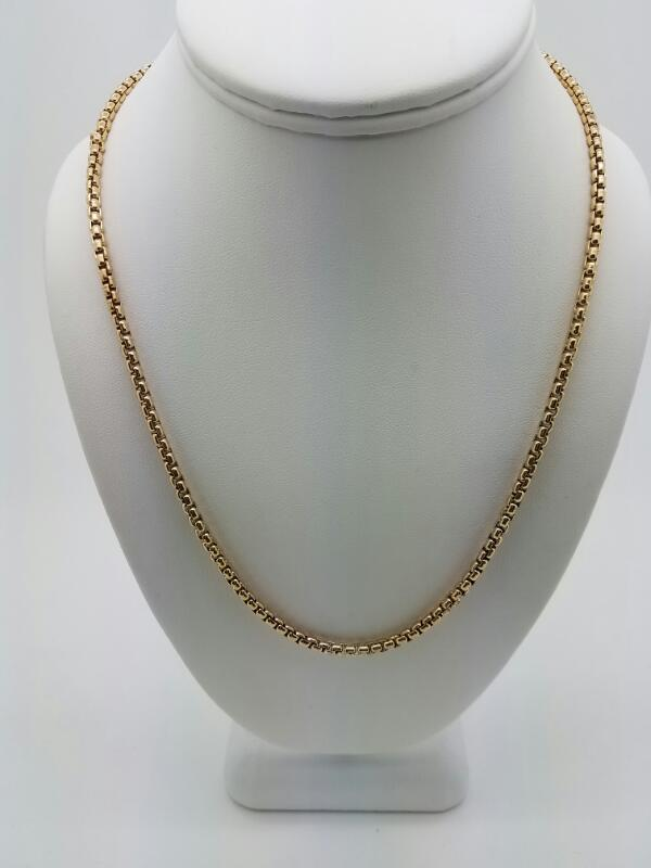 """22"""" Gold Chain 10K Yellow Gold 21dwt"""