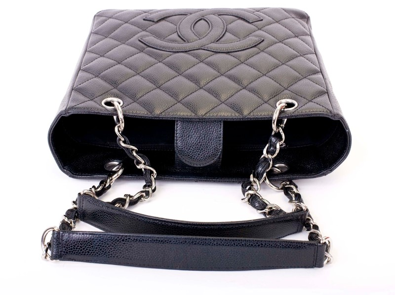 CHANEL Handbag QUILTED PETITE SHOPPER