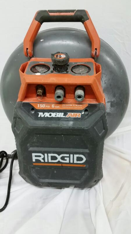 RIDGID TOOLS Air Compressor 0F60150VP