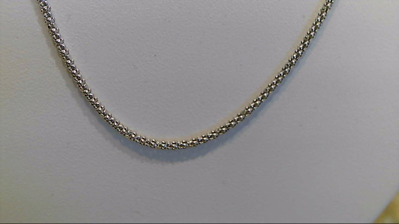 Lady's sterling silver 925 18inch snake chain