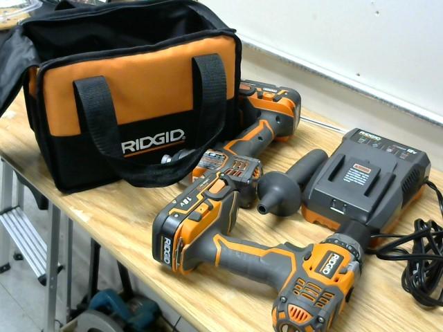 RIDGID TOOLS Combination Tool Set R86034 / R86008