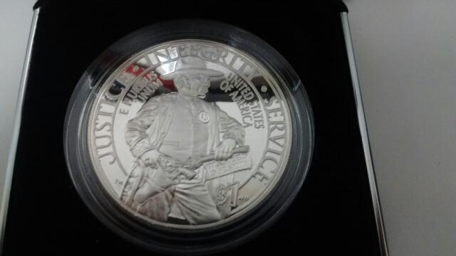 UNITED STATES 2015 MARSHALS COMMEMORATIVE COIN