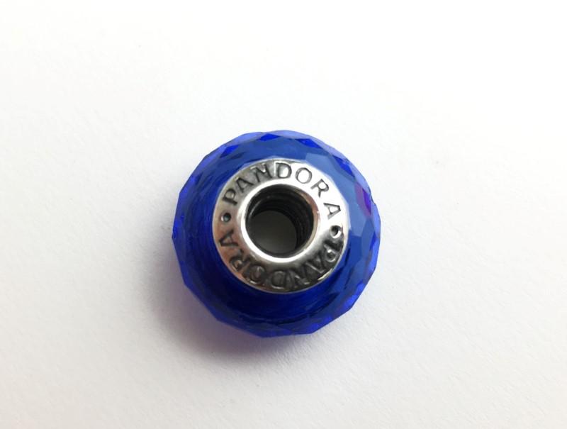 PANDORA MURANO GLASS BLUE FASCINATING CHARM