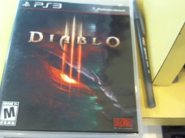 SONY Sony PlayStation 3 Game DIABLO