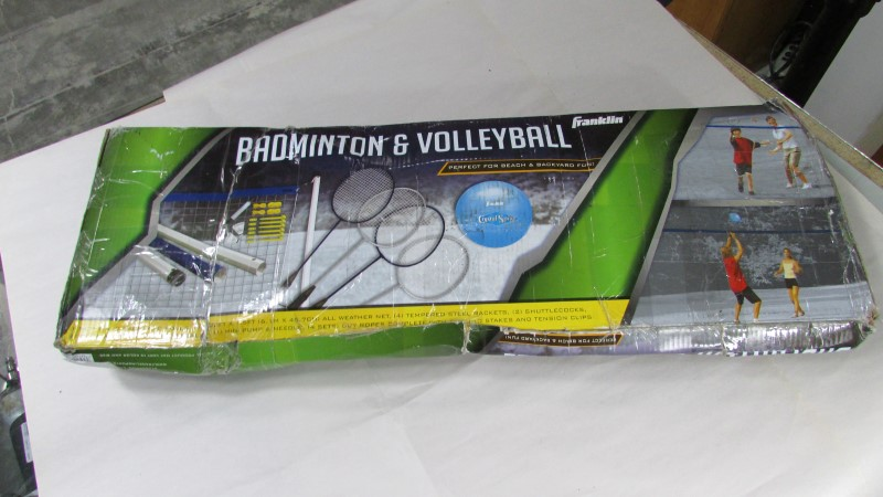 BADMINTON AND VOLLEYBALL SET