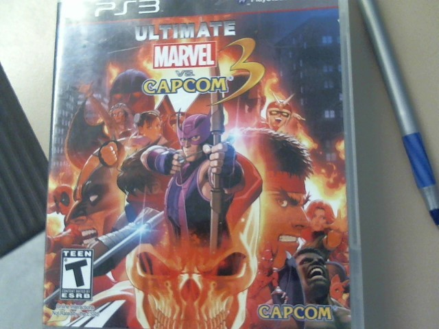 Marvel vs Capcom 3 Sony PlayStation 3 Game PS3 GAMES