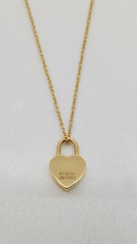 "Tiffany & Co. 16"" Gold Fine Chain 18K Yellow Gold 4g"