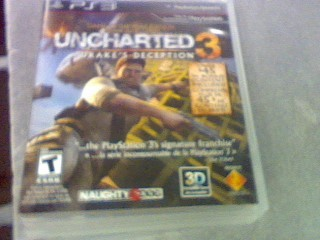 SONY Sony PlayStation 3 Game PS3 UNCHARTED