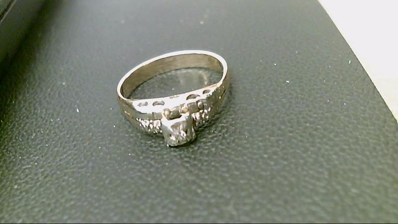 Lady's Diamond Wedding Band .04 CT. 10K Yellow Gold 2.9g