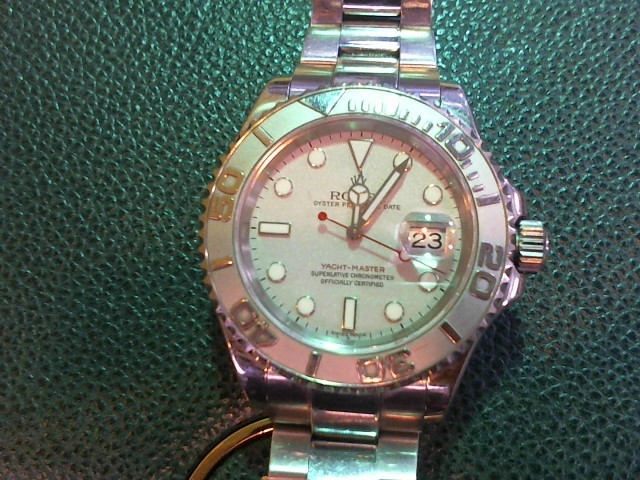 ROLEX Gent's Wristwatch 16622 YACHTMASTER STAINLESS STEEL OYSTER