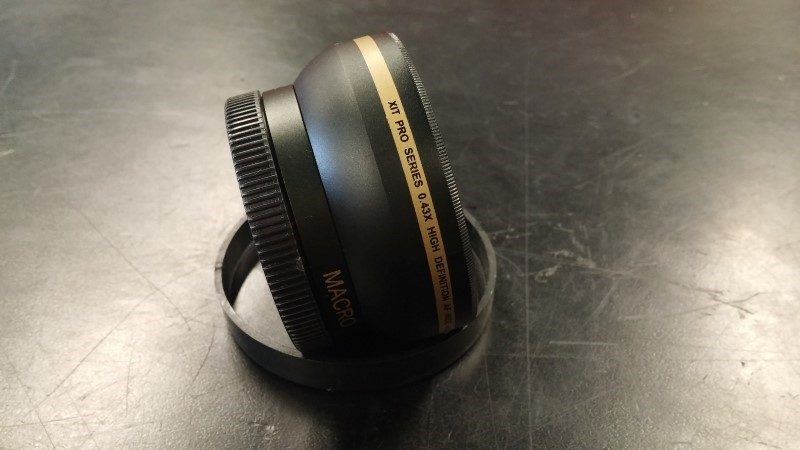 X PHOTO Lens/Filter WIDE ANGLE LENS