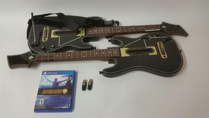 Guitar Hero Live PS4 with 2 Guitars