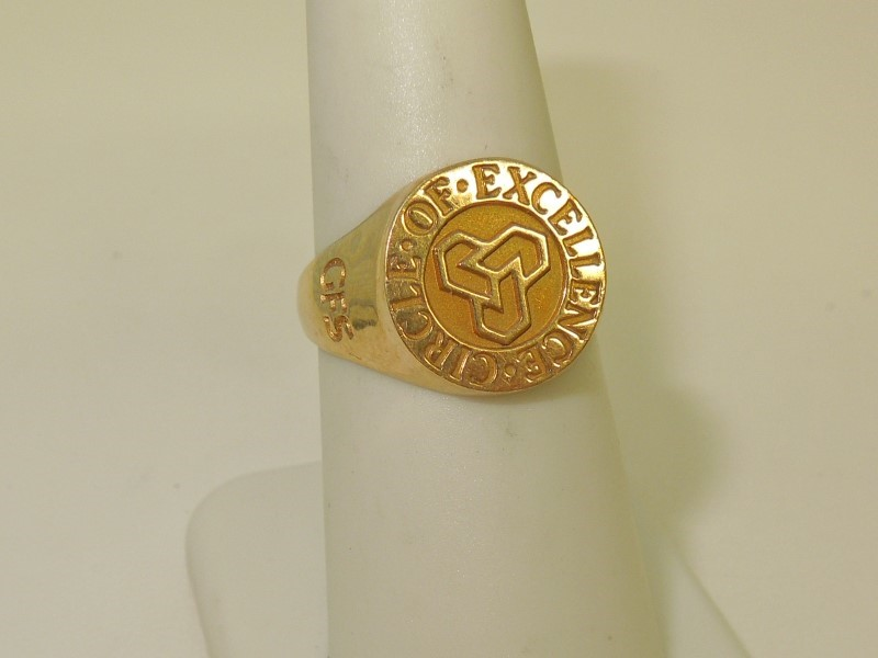 Gent's Gold Ring 14K Yellow Gold 6.4g