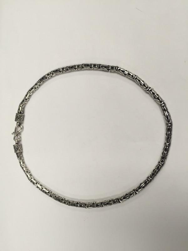 "16"" Silver Chain 925 Silver 44.8g"