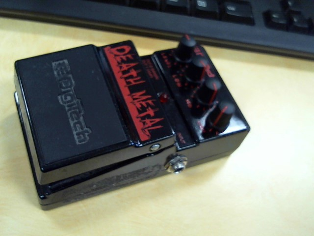 DIGITECH Effect Equipment DEATH METAL