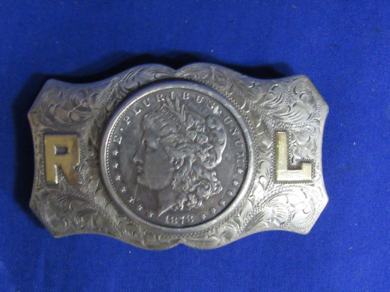 1878(CC) MORGAN BELT BUCKLE
