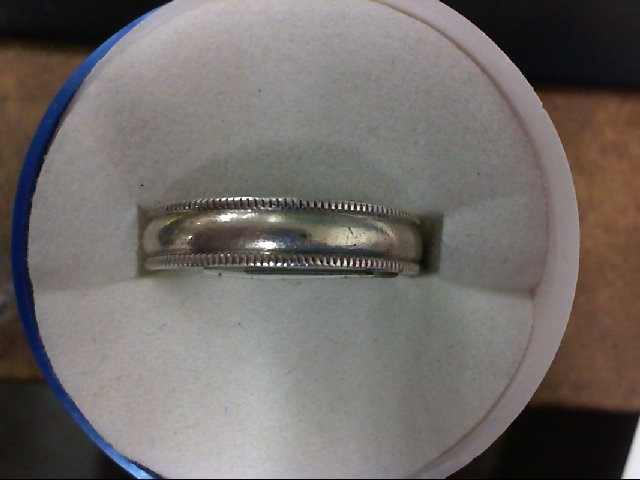 Lady's Silver Wedding Band 925 Silver 5.3g