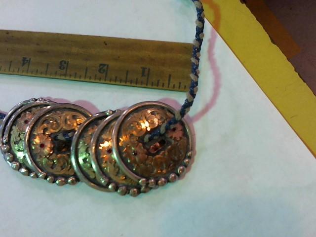 Silver Belt Buckle 925 Silver 187.2g