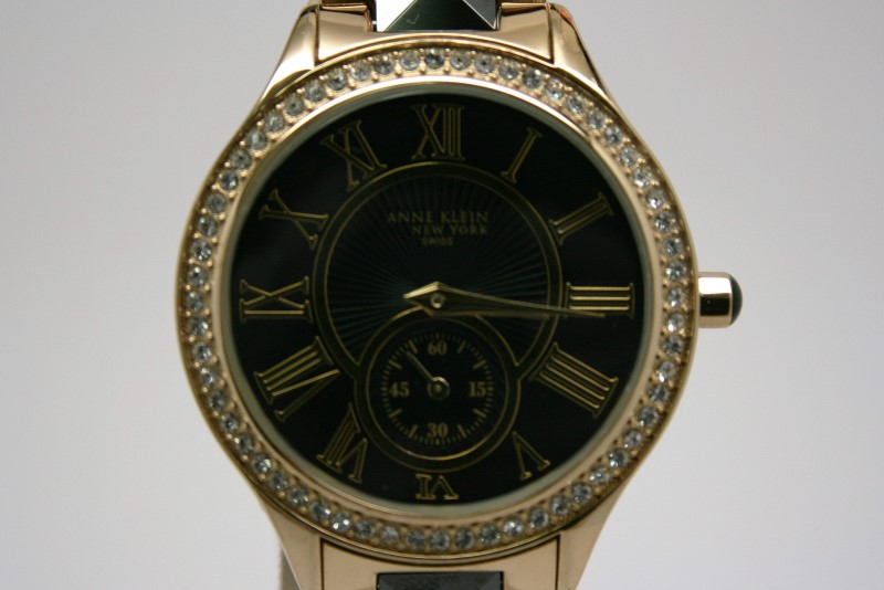 ANNE KLEIN LADY'S WATCH  12/2142BKGB