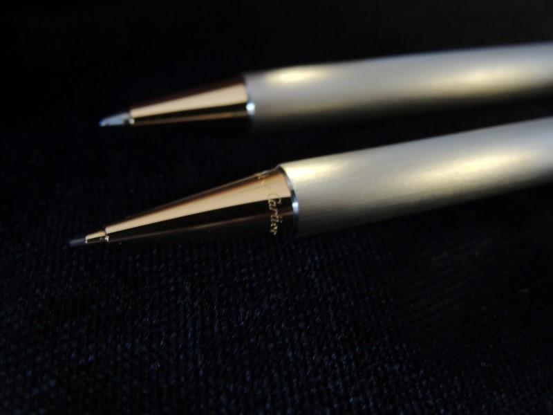 Cartier Stylos Must De Cartier Pen and Pencil Set