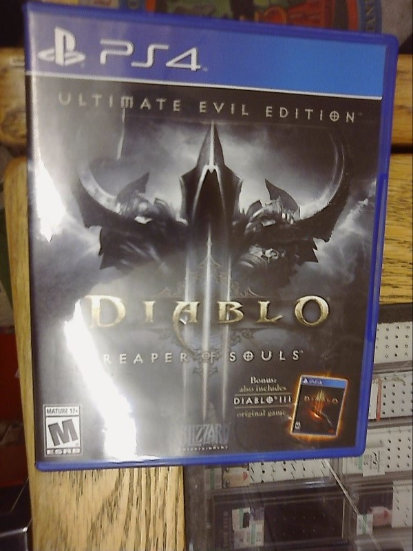 SONY  PlayStation 4 Game DIABLO REAPER OF SOULS ULTIMATE EVIL EDITION