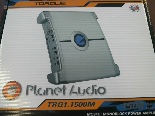 PLANET AUDIO 1500 WATT CAR AMP TRQ1.1500M