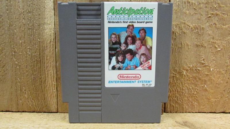 NINTENDO Nintendo NES Game ANTICIPATION