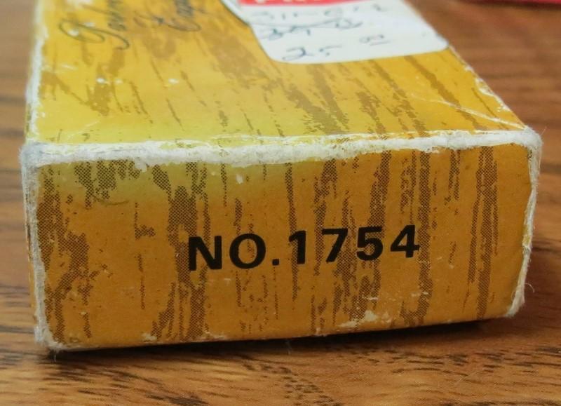 Vintage Parker Cut. Co. Eagle Brand Folding Knife No. 1754, Japan & Original Box